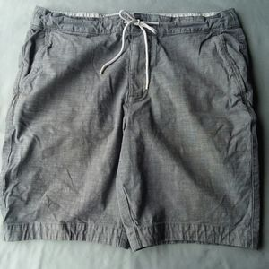 Men's Gray Shorts by Abercrombie & Fitch
